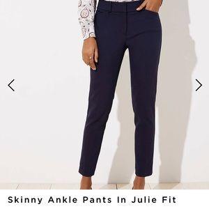 Ann Taylor Julie skinny dress pants
